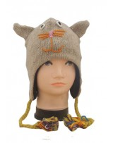 Nepal Wool Animal Hats
