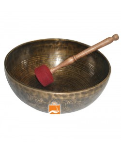 28cm Handmade Itching Singing Bowls