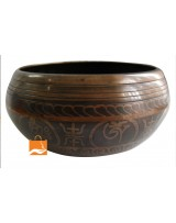12cm  Itching Singing Bowls