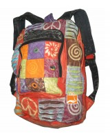 Cotton Razor Cut Bagpack